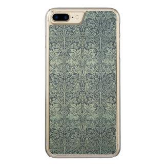 Het vintage Konijn GalleryHD van William Morris Carved iPhone 7 Plus Hoesje