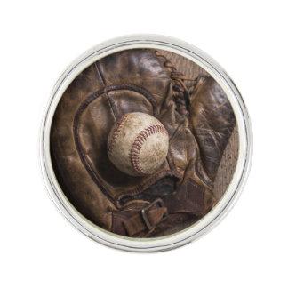 Het vintage Materiaal van het Honkbal Reverspeld