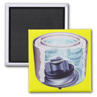 Het vintage Mengapparaat van de Wasmachine van de Vierkante Magneet