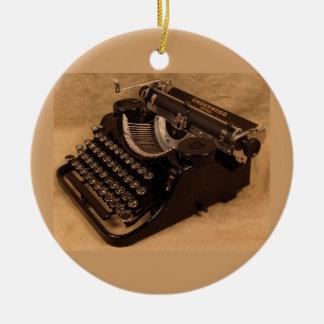 Het vintage Ornament van de Schrijfmachine