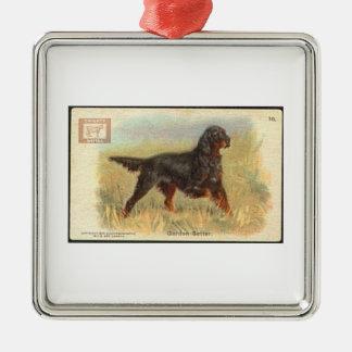 Het vintage Ornament van de Zetter Gordon