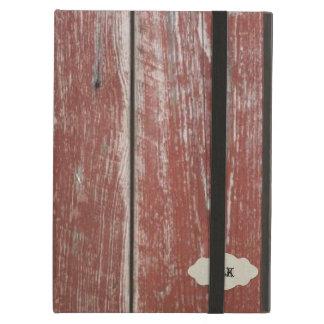 Het vintage Oude Rode Hout van de Schuur kijkt Gep iPad Air Hoesje