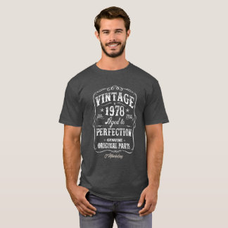 Het vintage Overhemd van 1978 Verjaardag 40 T Shirt