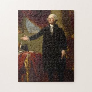 Het vintage Portret dat van George Washington 2 Puzzel
