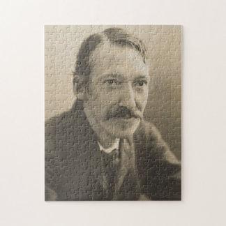Het vintage Portret van de Foto van Robert Louis Puzzel