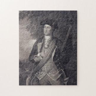Het vintage Portret van George Washington Puzzel
