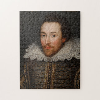 Het vintage Portret van William Shakespeare Legpuzzel