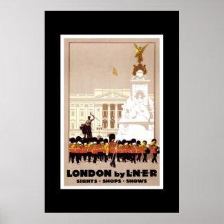 Het vintage Poster Londen van de Reis