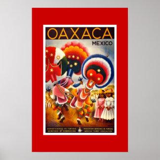 Het vintage Poster Mexico 2 van de Reis
