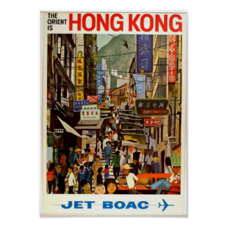 Het vintage Poster van de Reis oriënteert