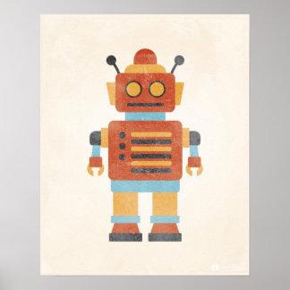 Het vintage Poster van de Robot