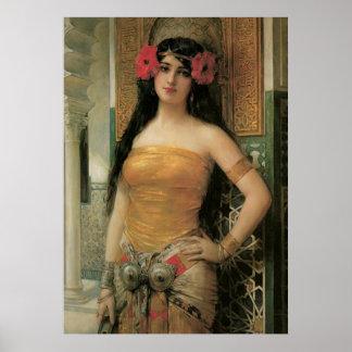 Het vintage Poster van de Schoonheid