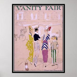 Het vintage Poster van het Art deco van de Dekking