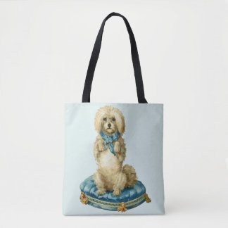 Het vintage/Retro Leuke Canvas tas van de Hond