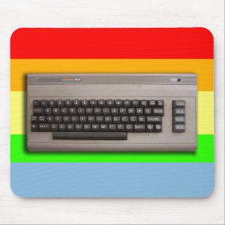 Het vintage Retro Toetsenbord van de Computer? Muismat