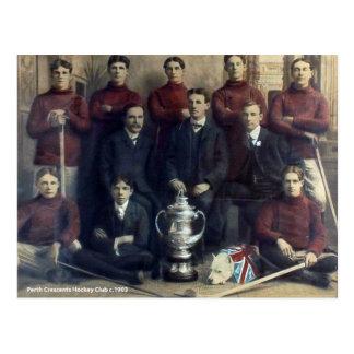 Het vintage Team 1903 van het Hockey van de Halve Briefkaart