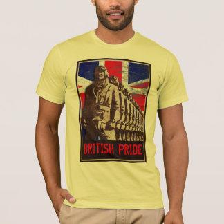Het vintage UK - BRITSE Klantgerichte TROTS - T Shirt