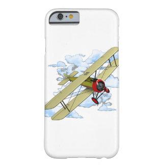 Het vintage Vliegen van de Tweedekker Barely There iPhone 6 Hoesje
