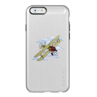Het vintage Vliegen van de Tweedekker Incipio Feather® Shine iPhone 6 Hoesje