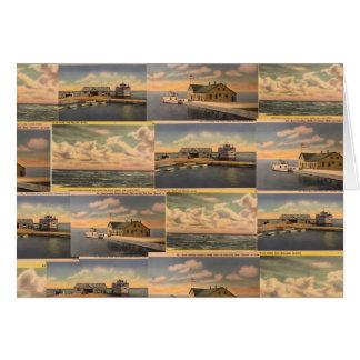 Het vintage Wenskaart van Kelley van Briefkaarten