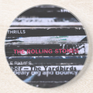 Het vinyl Leven 3 Zandsteen Onderzetter