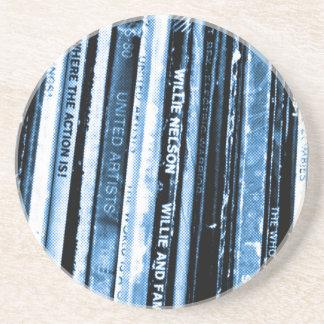 Het vinyl Leven Zandsteen Onderzetter