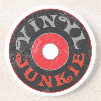 Het vinyl Onderzetter van de Junkie