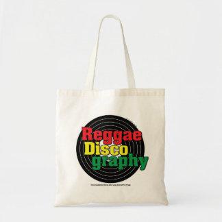 Het Vinyl van de Discografie van Reggae Draagtas