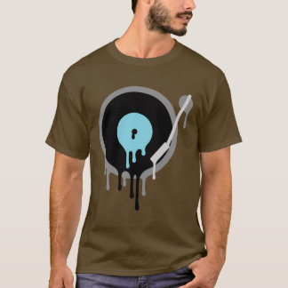 Het VinylT-shirt Turnable van DJ T Shirt