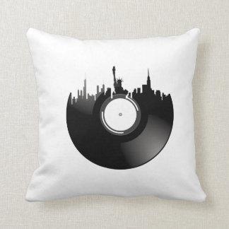Het VinylVerslag van de Stad van New York Sierkussen
