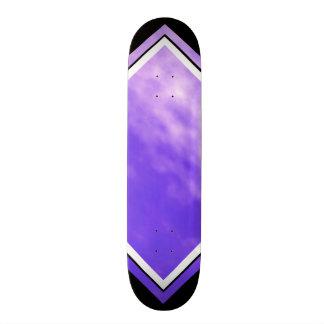 Het violette Dek van de Wolken van Hemelen Paarse Skate Decks