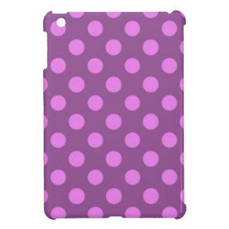 Het violette Paarse Patroon Trendy Girly van de iPad Mini Case