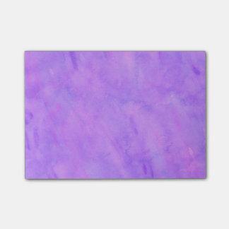 Het violette Paarse Patroon van de Textuur van de Post-it® Notes