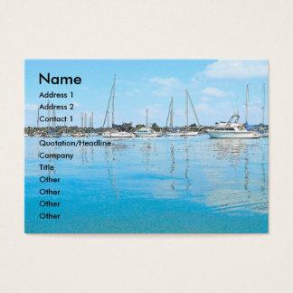 Het Visitekaartje van boten Visitekaartjes