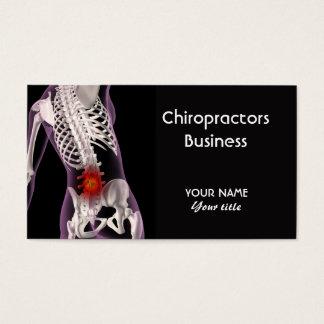 Het Visitekaartje van chiropractici Visitekaartjes