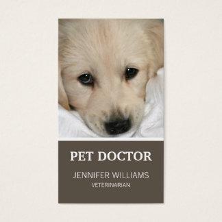 Het Visitekaartje van de Arts van de Hond van Visitekaartjes