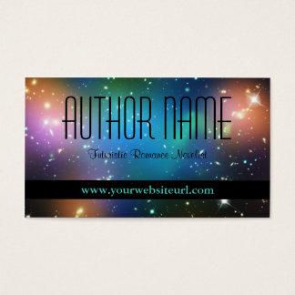 Het Visitekaartje van de Auteur van het Sci Fi Visitekaartjes