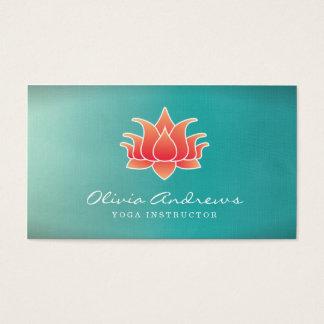 Het Visitekaartje van de Bloem van Lotus Visitekaartjes