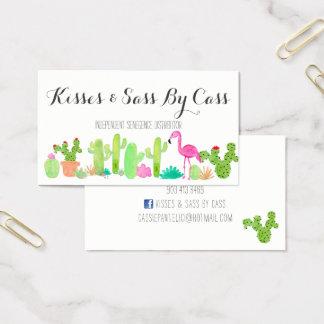 Het Visitekaartje van de cactus Visitekaartjes