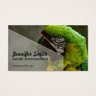 Het Visitekaartje van de Fotograaf van de natuur Visitekaartjes