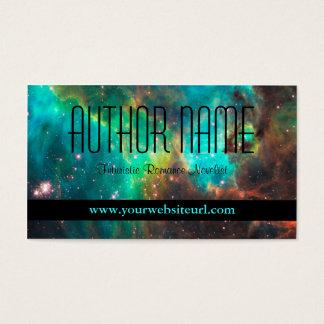 Het Visitekaartje van de futuristische of Auteur Visitekaartjes