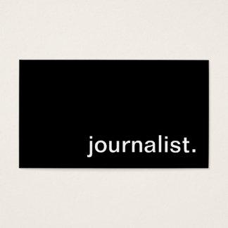 Het Visitekaartje van de journalist Visitekaartjes