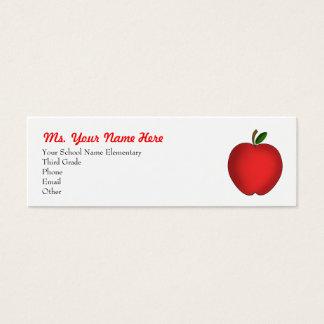 Het Visitekaartje van de leraar Mini Visitekaartjes