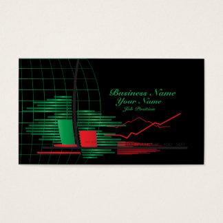Het Visitekaartje van de Makelaar van voorraden Visitekaartjes