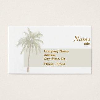 Het Visitekaartje van de palm Visitekaartjes
