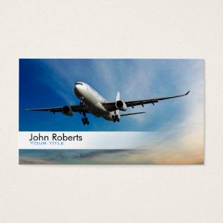 Het visitekaartje van de piloot visitekaartjes