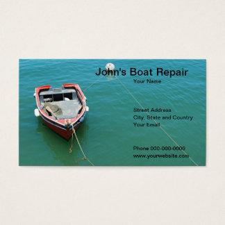 Het Visitekaartje van de Reparatie van de boot Visitekaartjes