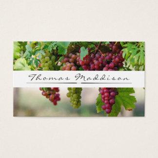 Het Visitekaartje van de Wijnmakerij van de Visitekaartjes
