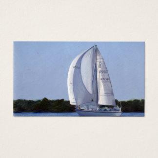 Het Visitekaartje van de zeilboot Visitekaartjes