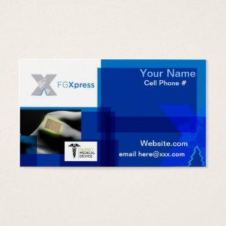 Het Visitekaartje van FGXpress Visitekaartjes